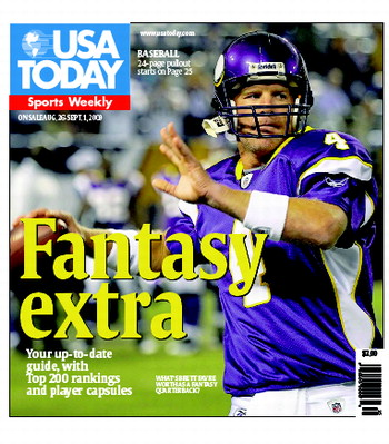 08/26/2009 Issue of Sports Weekly
