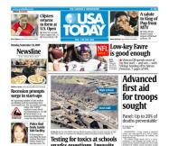 09/14/2009 Issue of USA TODAY