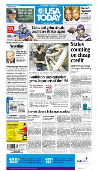 09/28/2009 Issue of USA TODAY