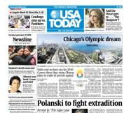 09/29/2009 Issue of USA TODAY