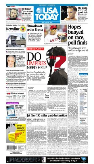 10/23/2009 Issue of USA TODAY