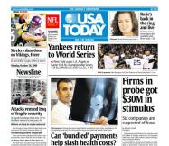 10/26/2009 Issue of USA TODAY