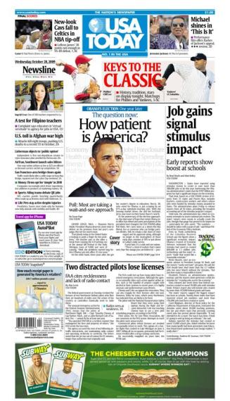 10/28/2009 Issue of USA TODAY