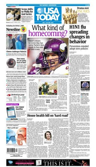 10/30/2009 Issue of USA TODAY