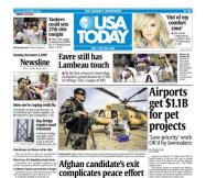 11/02/2009 Issue of USA TODAY