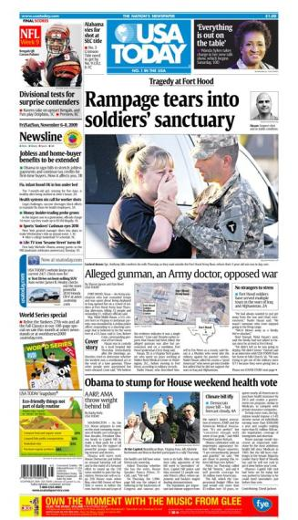 11/06/2009 Issue of USA TODAY