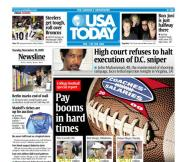 11/10/2009 Issue of USA TODAY