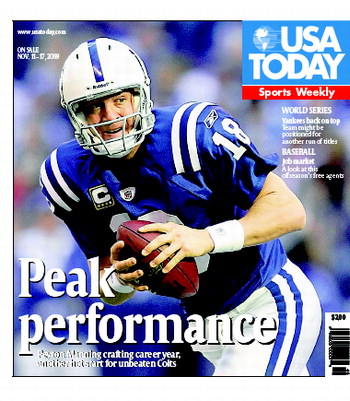 11/11/2009 Issue of Sports Weekly