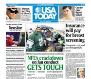 11/19/2009 Issue of USA TODAY