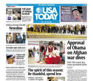 11/25/2009 Issue of USA TODAY