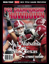 BCS Championship Showdown (with Alabama cover)
