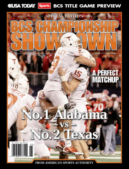 BCS Championship Showdown (with Texas cover)
