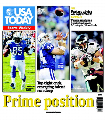 12/02/2009 Issue of Sports Weekly