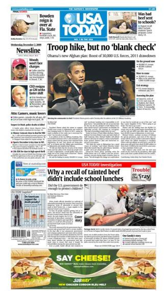 12/02/2009 Issue of USA TODAY
