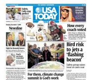 12/07/2009 Issue of USA TODAY