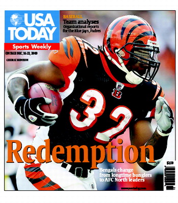 12/16/2009 Issue of Sports Weekly