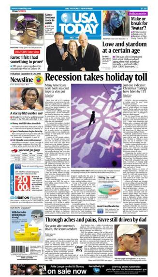 12/18/2009 Issue of USA TODAY
