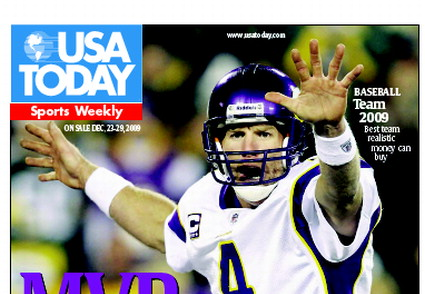 12/23/2009 Issue of Sports Weekly
