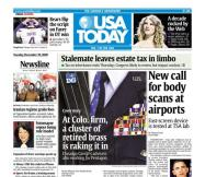 12/29/2009 Issue of USA TODAY