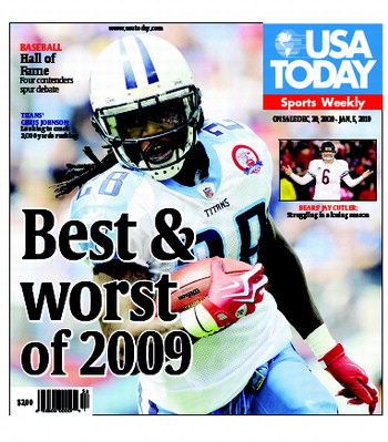 12/30/2009 Issue of Sports Weekly