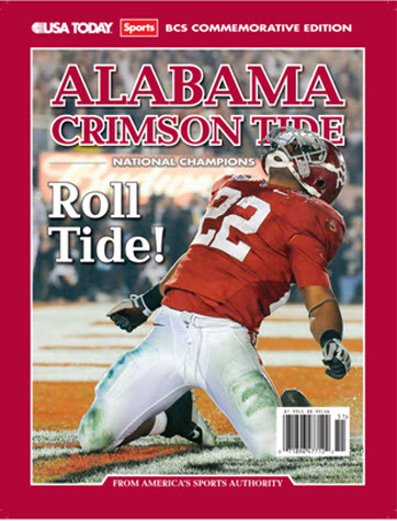 BCS Champion Collectible Edition - Alabama Crimson Tide: Roll Tide
