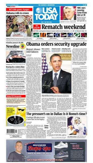 01/08/2010 Issue of USA TODAY