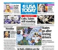 01/25/2010 Issue of USA TODAY