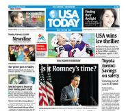 02/22/2010 Issue of USA TODAY
