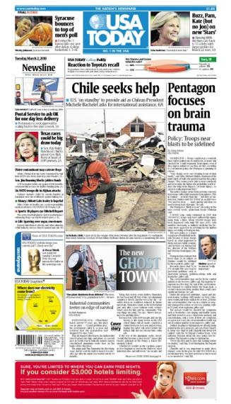 03/02/2010 Issue of USA TODAY