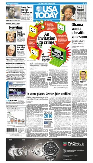 03/04/2010 Issue of USA TODAY