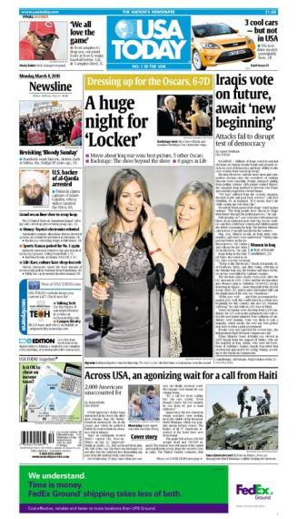 03/08/2010 Issue of USA TODAY