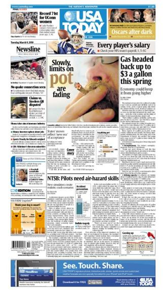 03/09/2010 Issue of USA TODAY