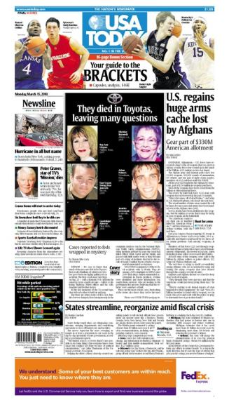 03/15/2010 Issue of USA TODAY