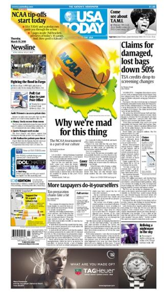 03/18/2010 Issue of USA TODAY