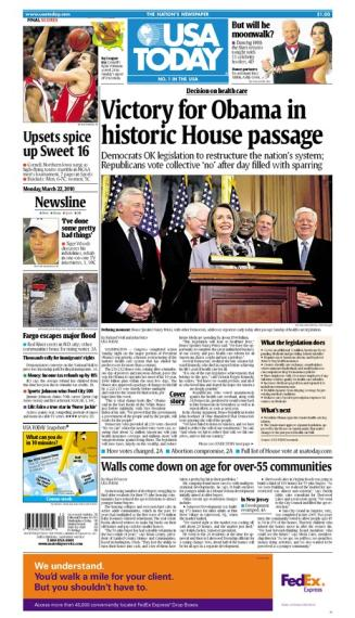 03/22/2010 Issue of USA TODAY