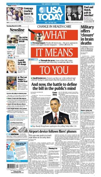 03/23/2010 Issue of USA TODAY