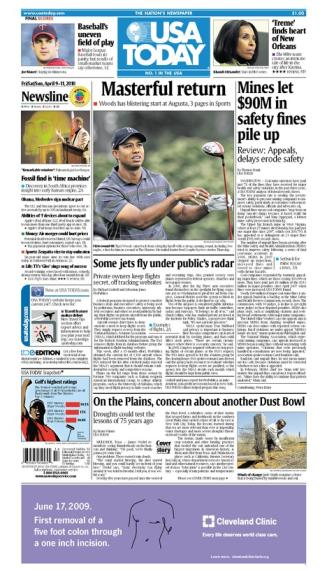 04/09/2010 Issue of USA TODAY