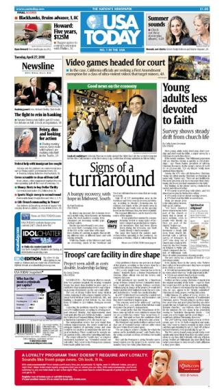 04/27/2010 Issue of USA TODAY