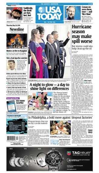 05/20/2010 Issue of USA TODAY