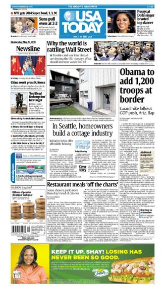 05/26/2010 Issue of USA TODAY