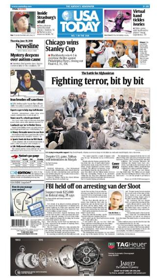 06/10/2010 Issue of USA TODAY