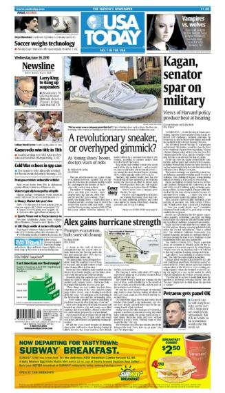 06/30/2010 Issue of USA TODAY