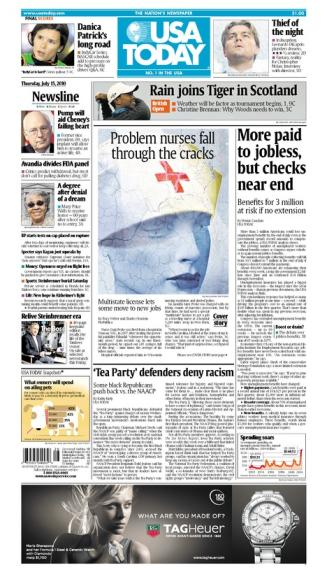 07/15/2010 Issue of USA TODAY MAIN