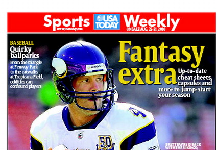 08/25/2010 Issue of Sports Weekly