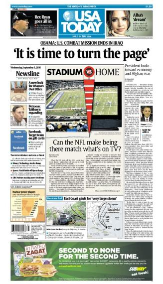 09/01/2010 Issue of USA TODAY