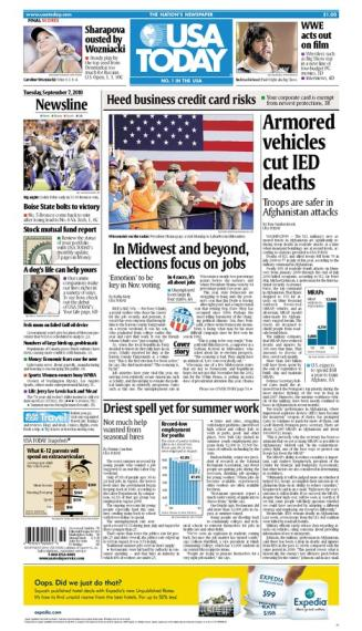09/07/2010 Issue of USA TODAY