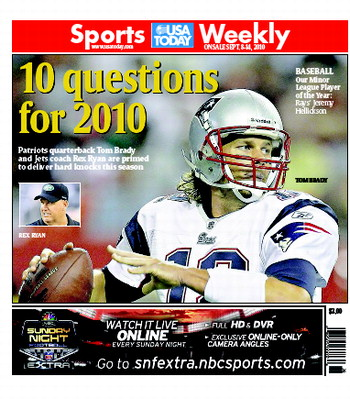 09/08/2010 Issue of Sports Weekly