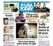 09/09/2010 Issue of USA TODAY