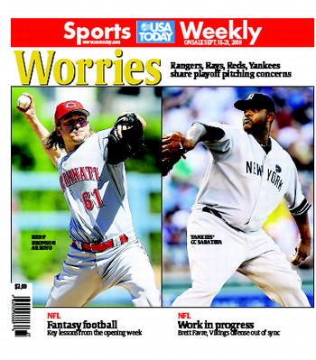 09/15/2010 Issue of Sports Weekly