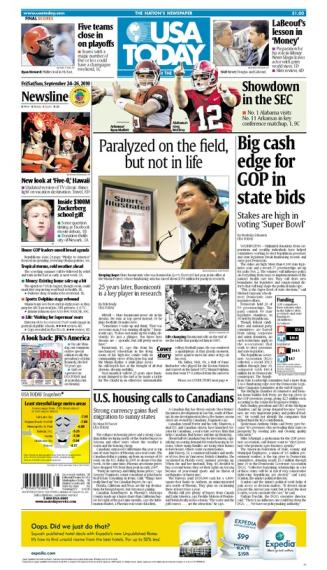 09/24/2010 Issue of USA TODAY